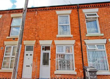 Thumbnail 2 bed terraced house for sale in Cecil Road, Leicester