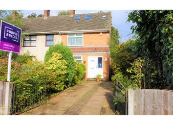Thumbnail 3 bed end terrace house for sale in Hurstlyn Road, Liverpool