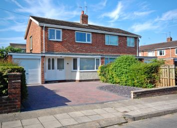 Thumbnail 3 bed semi-detached house for sale in Langley Road, Newton Hall, Durham