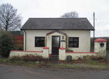Thumbnail 1 bed detached bungalow for sale in Llangain, Carmarthen