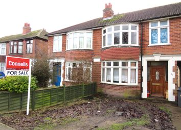 Thumbnail 3 bed town house for sale in Thurncourt Road, Off Scraptoft Lane, Leicester
