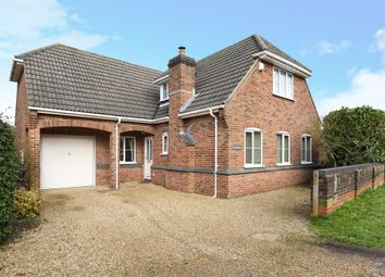 Thumbnail 4 bed detached house for sale in Church Lane, Colden Common, Winchester