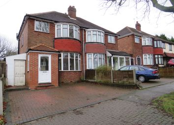 Thumbnail 3 bed semi-detached house for sale in Gorsy Road, Quinton, Birmingham
