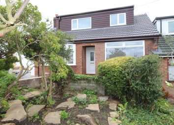 Thumbnail 4 bed semi-detached house for sale in Briarwood Crescent, Marple, Stockport
