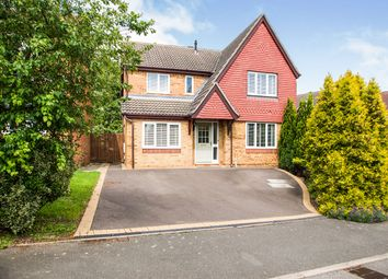 Thumbnail 4 bed detached house for sale in Sparrow Close, Ilkeston