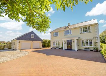 Thumbnail 5 bed detached house for sale in Tredrizzick, St. Minver, Wadebridge