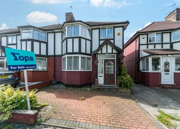 Thumbnail 3 bed semi-detached house for sale in Vivian Avenue, Wembley