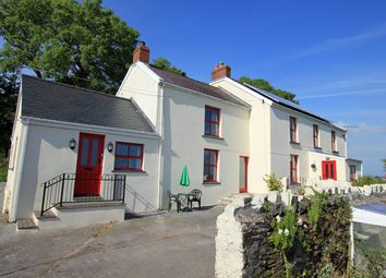 Thumbnail 5 bed detached house for sale in Llansadurnen, Laugharne, Carmarthenshire