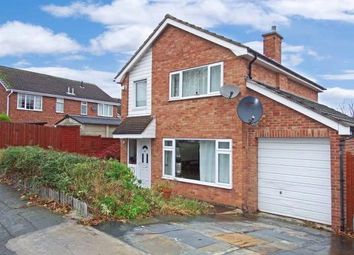 Thumbnail 3 bed detached house for sale in Althorpe Drive, Loughborough, Leicestershire