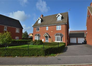 Thumbnail 5 bed detached house for sale in Livings Way, Stansted