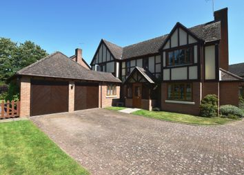 Thumbnail 4 bed detached house for sale in Millfield Drive, Market Drayton