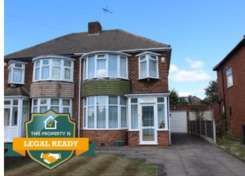 Thumbnail 3 bed semi-detached house for sale in Cranmore Road, Castle Bromwich, Birmingham