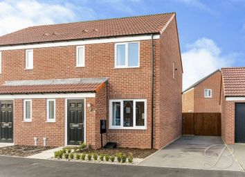 Thumbnail 3 bed semi-detached house for sale in Skylark Way, Clipstone Village, Mansfield