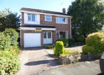 Thumbnail 4 bedroom detached house for sale in Denston Close, Wistaston, Crewe