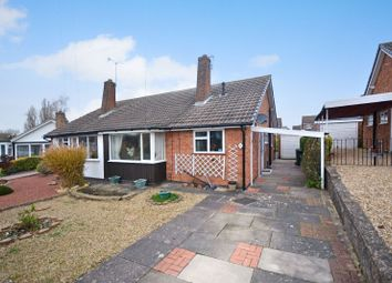 Thumbnail 2 bed bungalow for sale in Orchard Close, Oadby, Leicester
