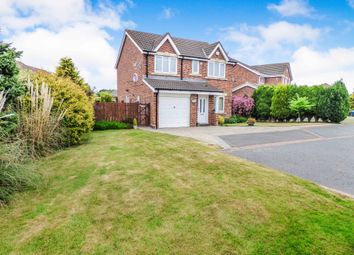 Thumbnail 4 bed detached house for sale in Ashwood Close, Cramlington