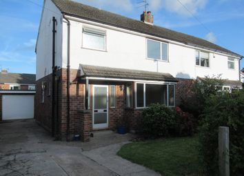 Thumbnail Semi-detached house to rent in Holmesway, Pensby, Wirral