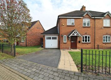 Thumbnail 3 bed semi-detached house for sale in Moat Drive, Hodge Hill, Birmingham