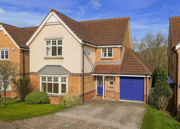 Thumbnail 4 bed detached house for sale in Cranesbill Close, Harrogate, North Yorkshire
