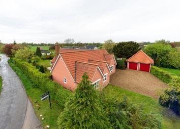 Thumbnail 3 bed detached bungalow for sale in Deadmans Lane, Stoke Ash, Eye, Suffolk