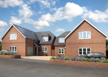 Thumbnail 4 bedroom detached house for sale in Stag Hill, Chilton Foliat