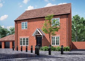 """Thumbnail 4 bed detached house for sale in """"The Leverton"""" at Pioneer Way, Bicester"""