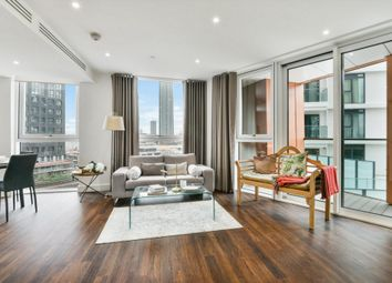 Thumbnail 3 bed flat to rent in Haydn Tower, Wandsworth Road, Nine Elms