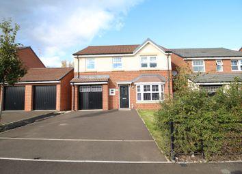 Thumbnail 4 bed detached house for sale in Monkton Lane, Hebburn