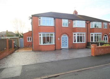 Thumbnail 5 bed semi-detached house for sale in Duchy Avenue, Worsley, Manchester