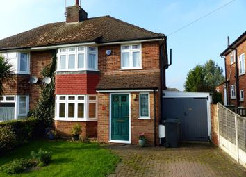 Thumbnail 3 bed semi-detached house for sale in Fishermans Way, Bourne End