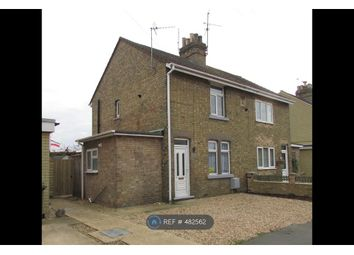 Thumbnail 3 bed semi-detached house to rent in Back Lane, Eye, Peterborough