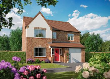 Thumbnail 4 bed detached house for sale in Tidbury Heights, Fulford Hall Road, Tidbury Green, Solihull