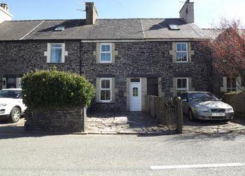 Thumbnail 2 bed terraced house for sale in Gwyrfai Terrace, Waunfawr, Caernarfon, Gwynedd