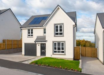 "Thumbnail 4 bed detached house for sale in ""Dunbar"" at Meikle Earnock Road, Hamilton"