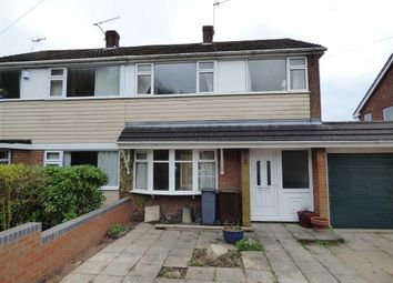 Thumbnail 3 bedroom semi-detached house to rent in Lydford Place, Longton, Stoke-On-Trent