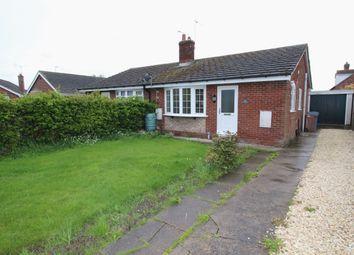 Thumbnail 2 bed bungalow for sale in Croft Close, Eastrington, Goole