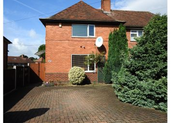 Thumbnail 2 bed semi-detached house for sale in Bracknell Crescent, Nottingham
