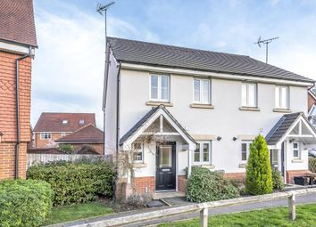 Thumbnail 2 bed semi-detached house for sale in Sindlesham, Berkshire