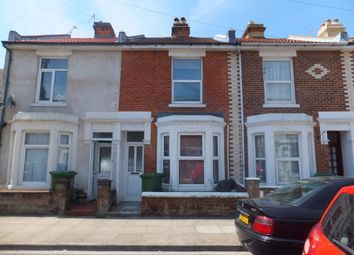 Thumbnail 3 bed terraced house to rent in Bath Road, Southsea