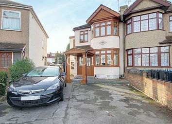 Thumbnail 4 bed semi-detached house for sale in Monroe Crescent, Enfield