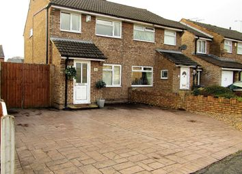Thumbnail 3 bed semi-detached house for sale in Northbury Road, Ellesmere Port, Cheshire West And Chester