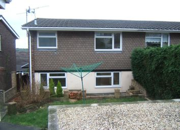 Thumbnail 3 bed semi-detached house to rent in Ivor John Walk, Caerleon, Newport