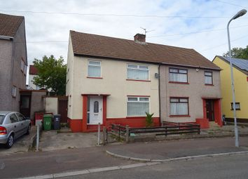 Thumbnail 3 bed semi-detached house for sale in Vachell Road, Ely, Cardiff.