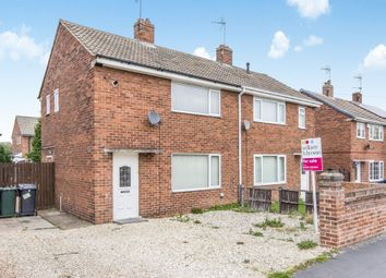 Thumbnail 2 bed semi-detached house for sale in Miller Lane, Thorne, Doncaster
