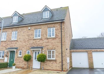 Thumbnail 3 bed town house for sale in Howards Way, Northampton