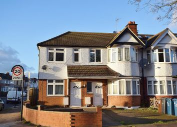 Thumbnail 1 bedroom flat to rent in Malvern Avenue, Rayners Lane, Middlesex