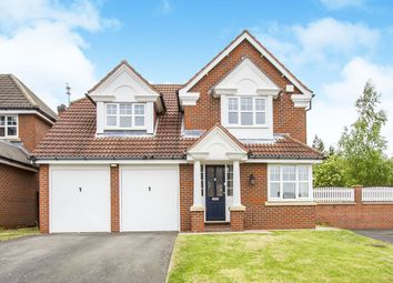 Thumbnail 4 bed detached house for sale in Golding Close, Loughborough