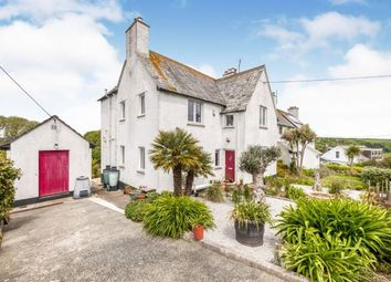 Thumbnail 3 bed end terrace house for sale in Treen, St Leven, Cornwall