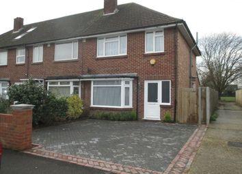 Thumbnail 3 bedroom end terrace house to rent in Invergordon Avenue, Drayton, Portsmouth