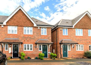 Thumbnail 3 bed end terrace house for sale in Marsh Close, Addlestone